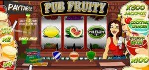Picture of the Classic Pub fruit machine game