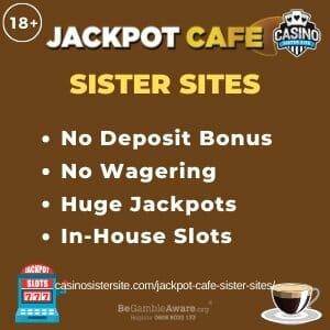 Jackpot Cafe Sister Sites banner