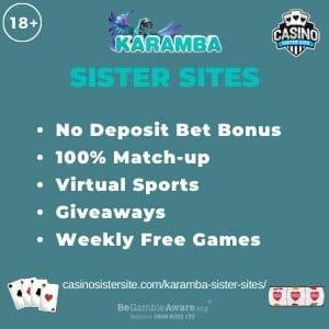 Karamba Sister Sites banner