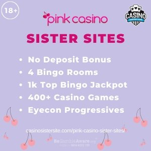 Pink Casino Sister Sites banner