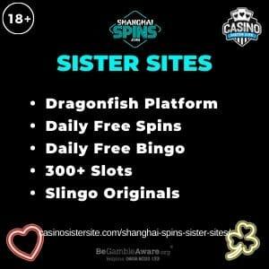 Shangai Spins Sister Sites banner