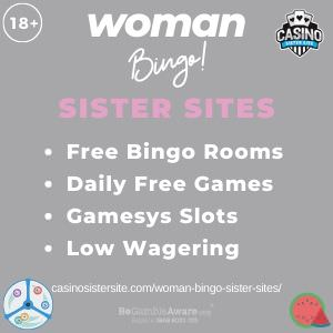 Woman Bingo Sister Sites banner image