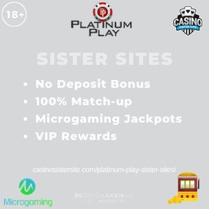 Lucky Nugget sister sites - List with 50 spins no deposit. 9